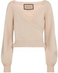 Gucci Pullover in lana - Neutro