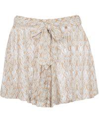 Missoni Mid-rise Crochet Shorts - Multicolour