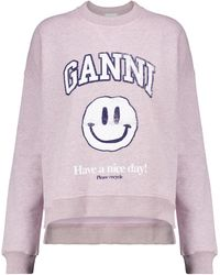 Ganni Bedrucktes Sweatshirt Isoli - Mehrfarbig