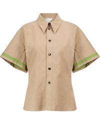 Bottega Veneta - Hemd aus Baumwolle - Lyst