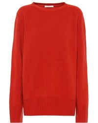 The Row - Pullover Sibel in lana e cashmere - Lyst