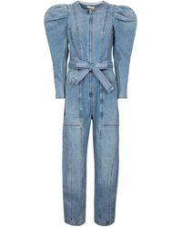 Ulla Johnson Combi-pantalon Pascale en jean - Bleu