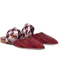 Malone Souliers Slippers Maisie - Rot