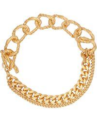 Elhanati Izzy 24kt Gold-plated Silver Bracelet - Metallic