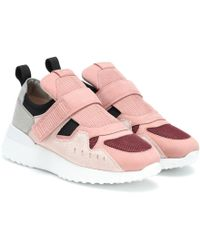 Tod's Touch Strap Low-top Trainers - Pink