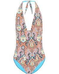 Etro Badeanzug mit Print - Mehrfarbig