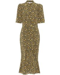 Veronica Beard Pike Floral Silk Dress - Multicolour