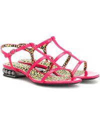 Nicholas Kirkwood Casati Strap Sandals - Pink