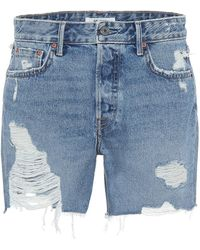 GRLFRND Jeansshorts Jourdan - Blau