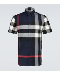 Burberry - Somerton Checked Shirt - Lyst