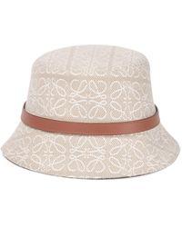 Loewe Sombrero de pescador Anagram - Neutro