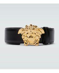 Versace - Cinturón Palazzo con hebilla Medusa - Lyst