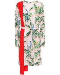 Stella McCartney Sansa Silk Dress - Multicolor