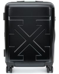 Off-White c/o Virgil Abloh Quote Carry-on Suitcase - Black