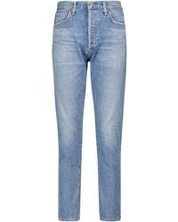 Citizens of Humanity - Jeans slim Liya a vita alta - Lyst