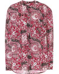 Étoile Isabel Marant Mexika Cotton Blouse - Pink