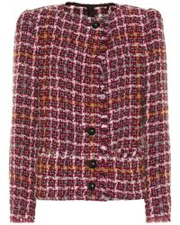 Isabel Marant Giacca Zoa in tweed - Multicolore