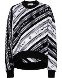 Givenchy Jersey de lana de jacquard - Negro