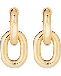 Paco Rabanne - Chain Hoop Earrings - Lyst