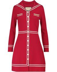 Gucci Wool Minidress - Red