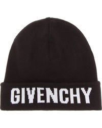 Givenchy - Cotton And Cashmere Hat - Lyst