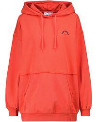 The Upside Dana Cotton Jersey Hoodie - Red