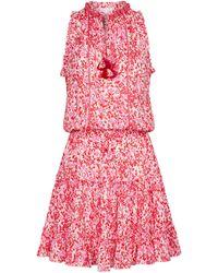 Poupette Exklusiv bei Mytheresa – Minikleid Clara - Pink