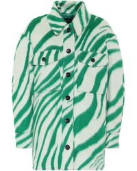 Isabel Marant Harvey Virgin Wool Jacket - White