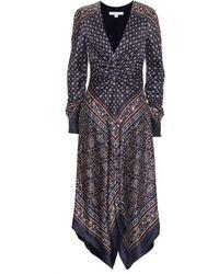 Jonathan Simkhai Floral Faille Dress - Multicolor