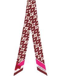 Valentino Printed Silk Neck Tie - Multicolour