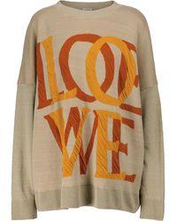 Loewe Jerséis Love en mezcla de lino de - Neutro
