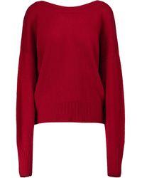Isabel Marant Caleb Reversible Cashmere Cardigan - Red