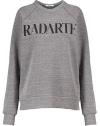 Rodarte Logo Sweatshirt - Grey