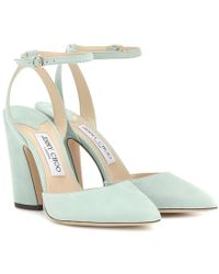 Jimmy Choo Pumps Micky 100 in suede - Multicolore
