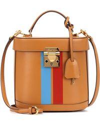 Mark Cross - Benchley Leather Shoulder Bag - Lyst