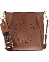 Stella McCartney Borsa a tracolla Stella Logo - Marrone