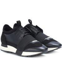 Balenciaga Sneaker Speed Jacquard - Nero