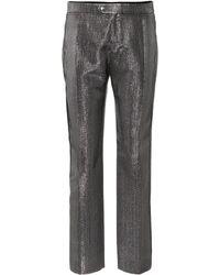 Chloé Metallic Straight-leg Pants - Multicolor