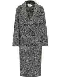 Étoile Isabel Marant Habra Coat - Gray