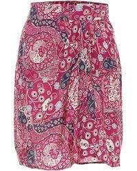 Étoile Isabel Marant Minifalda Cegart con print paisley - Multicolor