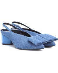 Pierre Hardy Obi Slingback Court Shoes - Blue