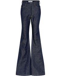 Matthew Adams Dolan High-rise Flared Jeans - Blue