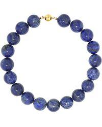 Sophie Buhai Choker Perriand de lapislázuli y oro de 18 ct - Azul
