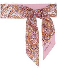 Zimmermann Exclusive To Mytheresa – Paisley Silk Headscarf - Pink