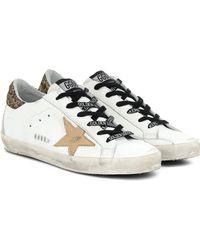 Golden Goose Deluxe Brand Superstar Sneakers - White