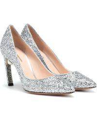 Nicholas Kirkwood Mira Pearl Court Shoes 90 - Metallic