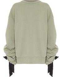 Dries Van Noten Cotton Trackpants - Green
