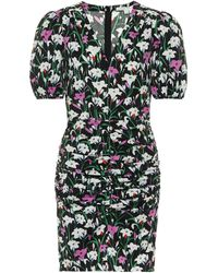 Veronica Beard Janis Cotton-blend Minidress - Black