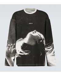 OAMC Nocturnal Printed Long-sleeved T-shirt - Black