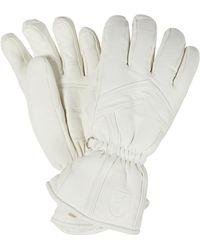 Toni Sailer Handschuhe Leyla aus Leder - Weiß